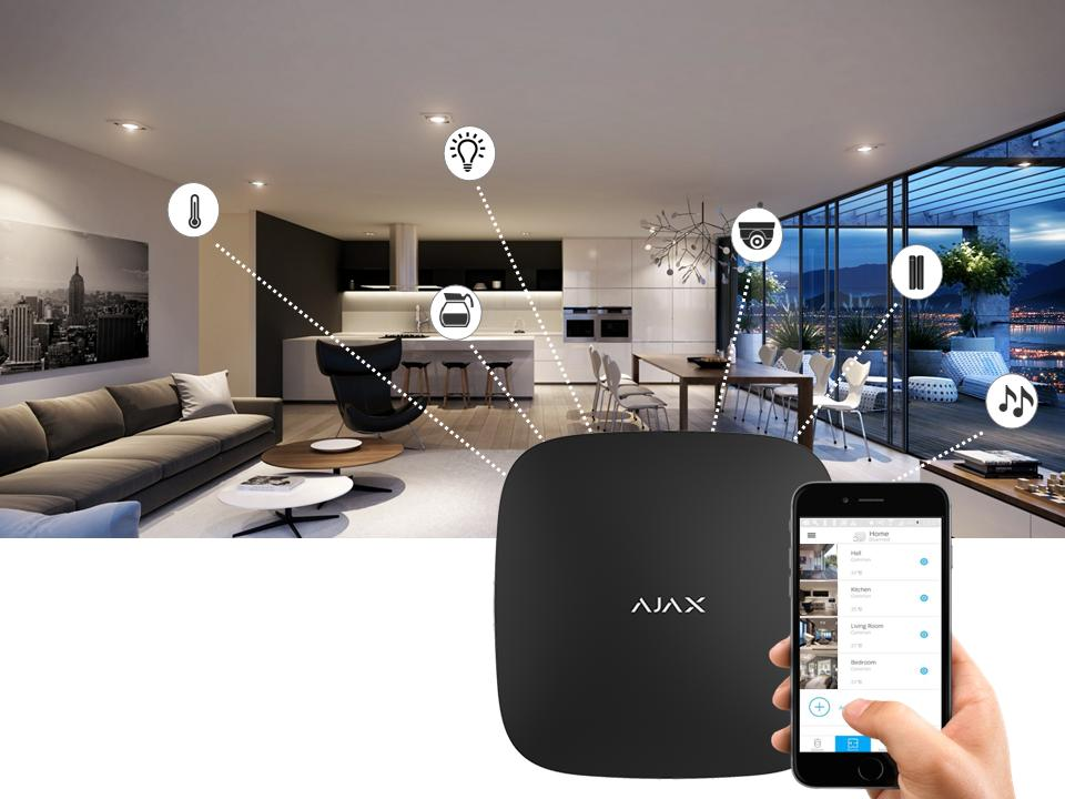 ajax smart home automations